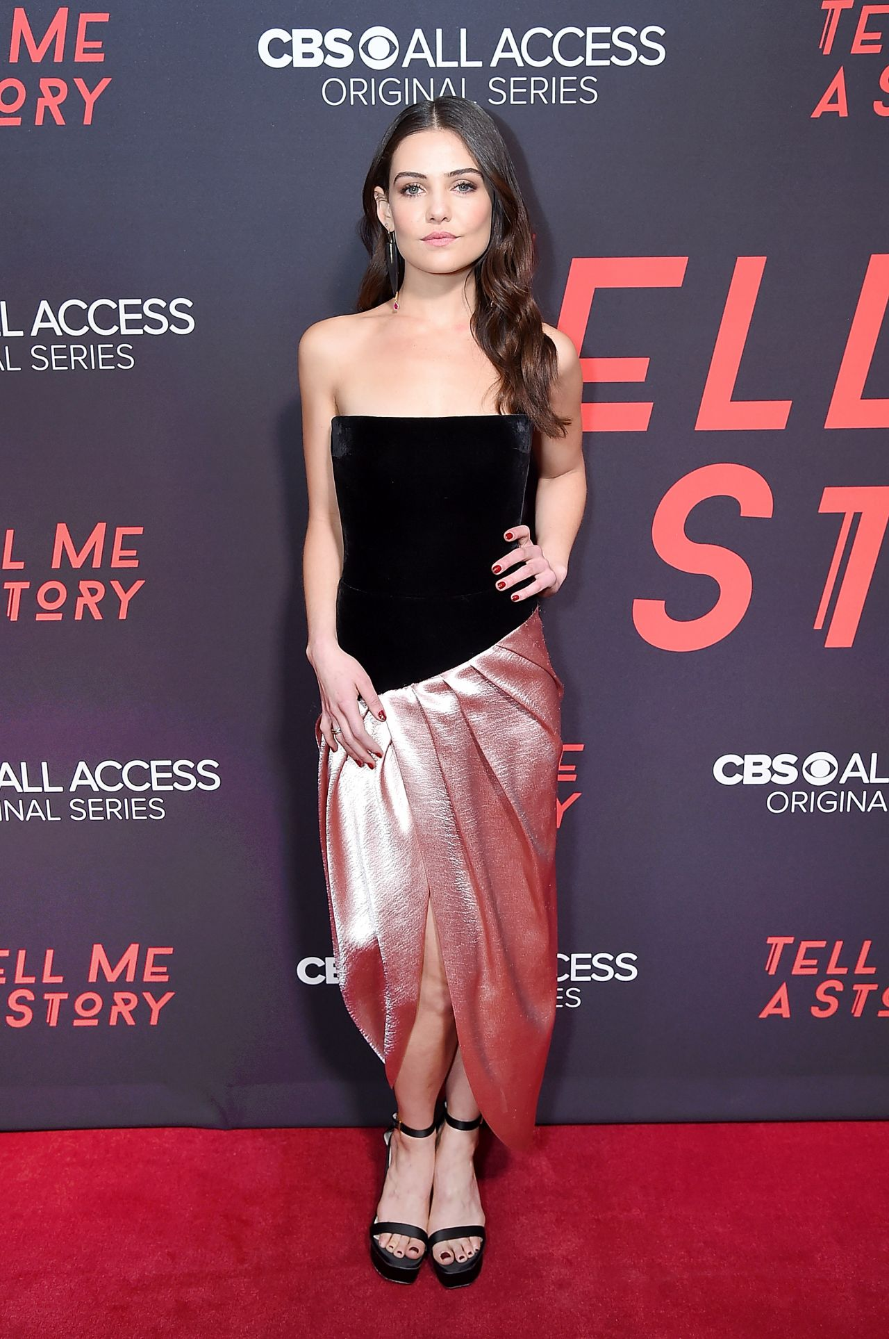 Danielle Campbell Tell Me A Story Quot Premiere In Nyc