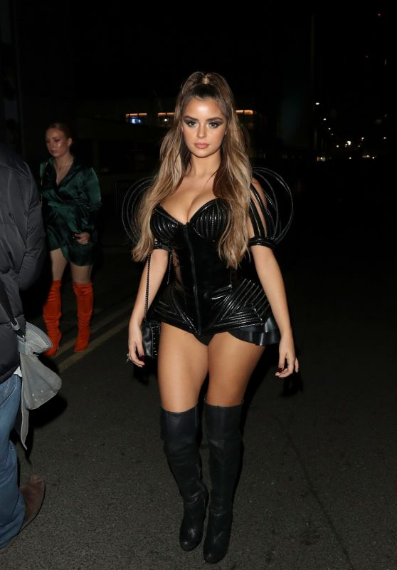 Demi Rose – 2018 KISS Haunted House Party in London