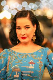 Dita Von Teese - Lights of Gaming Gala in Casino of Monte-Carlo 10/19/2018