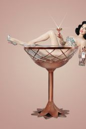Dita Von Teese Photoshoot - Herring & Herring The Copper Coupe 2018