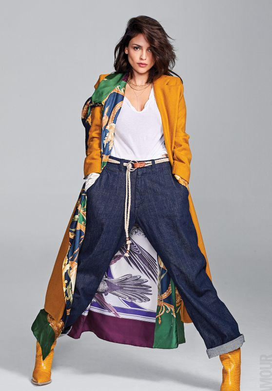 Eiza Gonzalez - Glamour Magazine Mexico October 2018 Photos