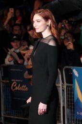 "Eleanor Tomlinson - ""Colette"" Premiere at the BFI London Film Festival"