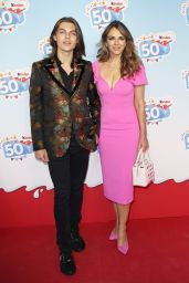 Elizabeth Hurley - Kinder Chocolate 50th Anniversary Heide Park in Soltau