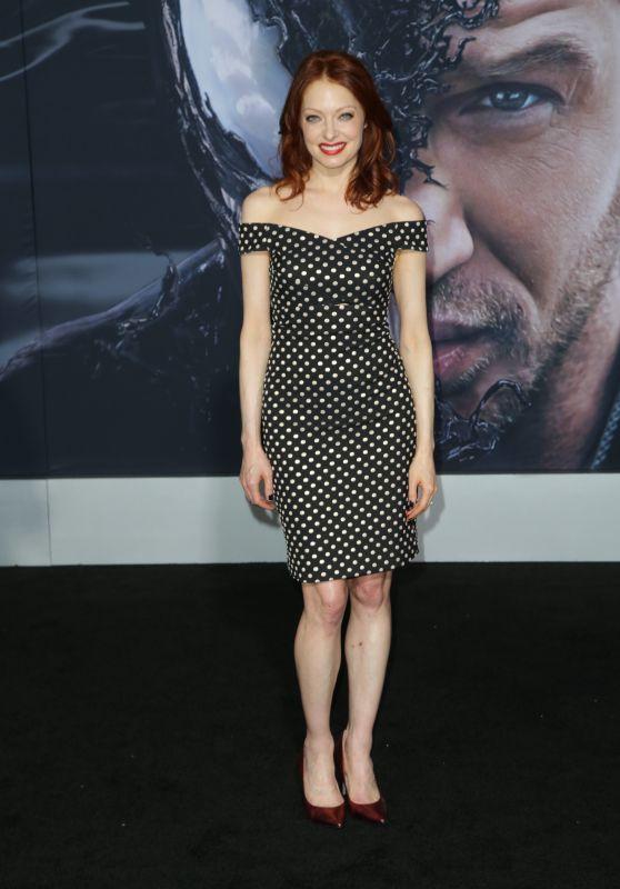 """Elizabeth J. Carlisle – """"Venom"""" Premiere in LA"""