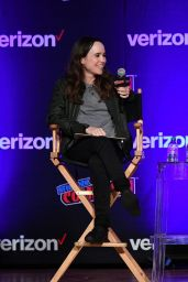 Ellen Page at the Netflix & Chills Panel, NYCC 2018