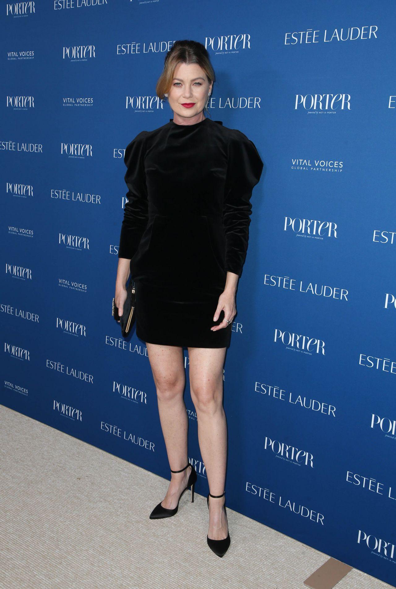 Ellen Pompeo Porter S Incredible Women Gala 2018