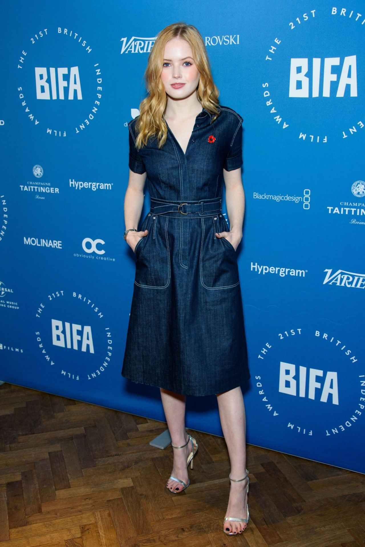 Ellie Bamber British Independent Film Award Nominations