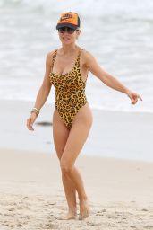 Elsa Pataky in Swimsuit - Beach in Byron Bay, Australia 10/21/2018