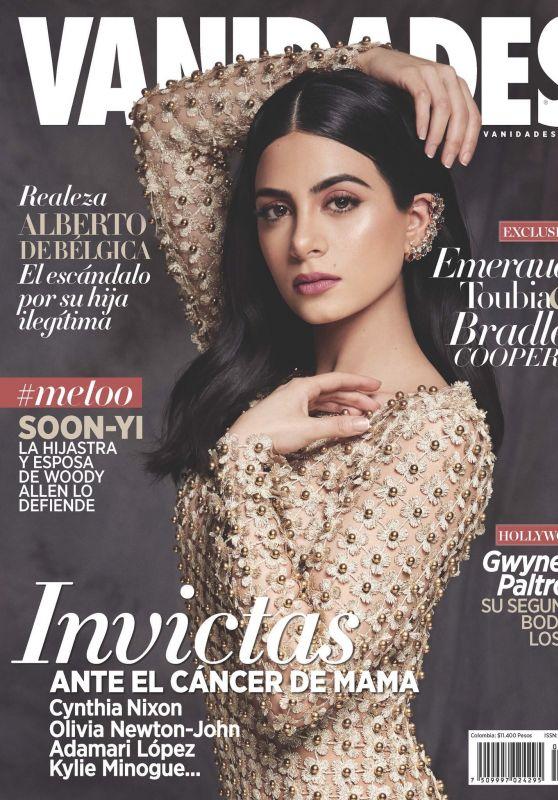 Emeraude Toubia - Vanidades Colombia Cover November 2018