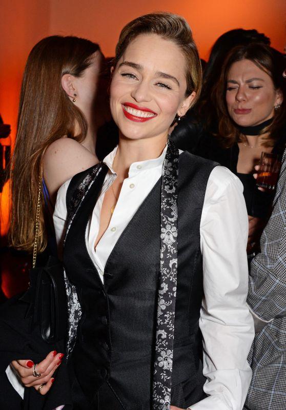 Emilia Clarke - BFI London Film Festival Awards Party 10/20/2018