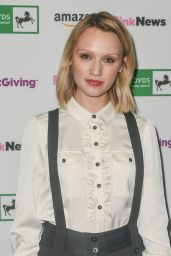 Emily Berrington - Pink News Award at Church House in London 10/17/2018