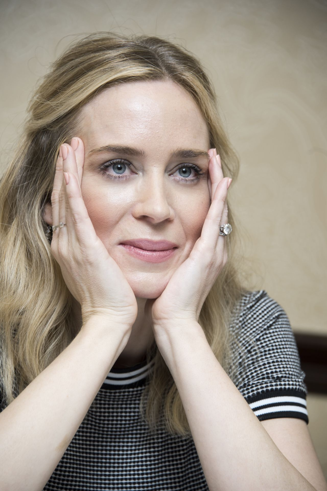 "Emily Blunt - ""A Quiet Place"" Press Conference in Austin"