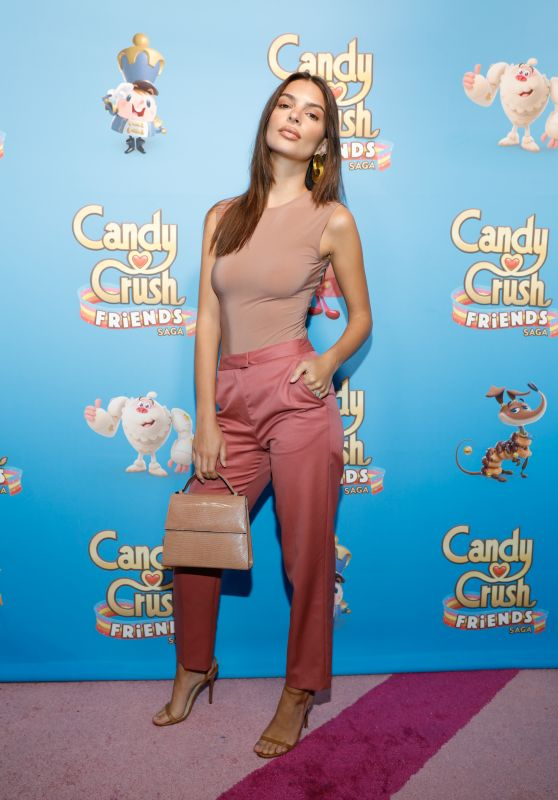 Emily Ratajkowski - Candy Crush Friends Saga Global Launch Event in NYC 10/11/2018