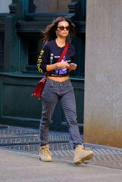 Emily Ratajkowski Street Fashion - NYC 10/17/2018
