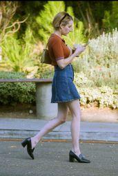 Emma Roberts Cute Street Style 10/22/2018