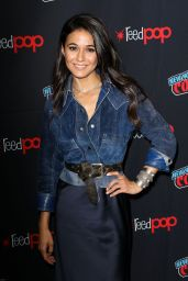 "Emmanuelle Chriqui - ""The Passage"" Panel at the 2018 NYCC"