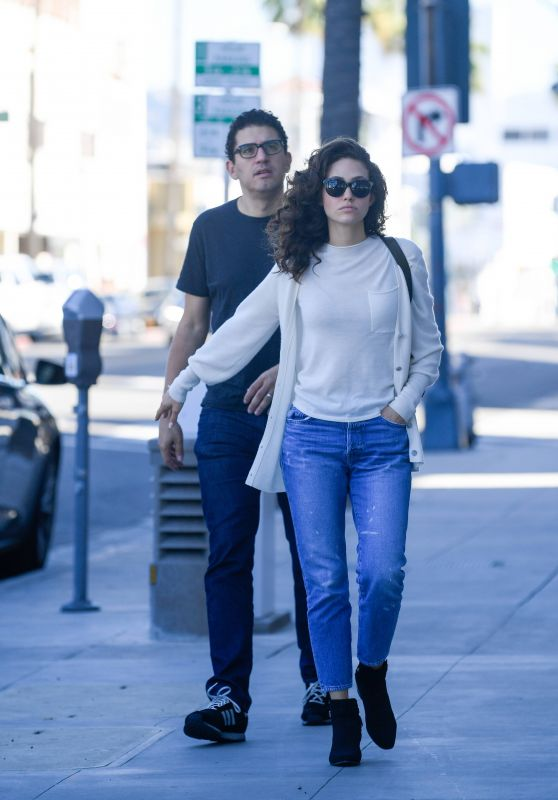 Emmy Rossum Casual Style 10/22/2018