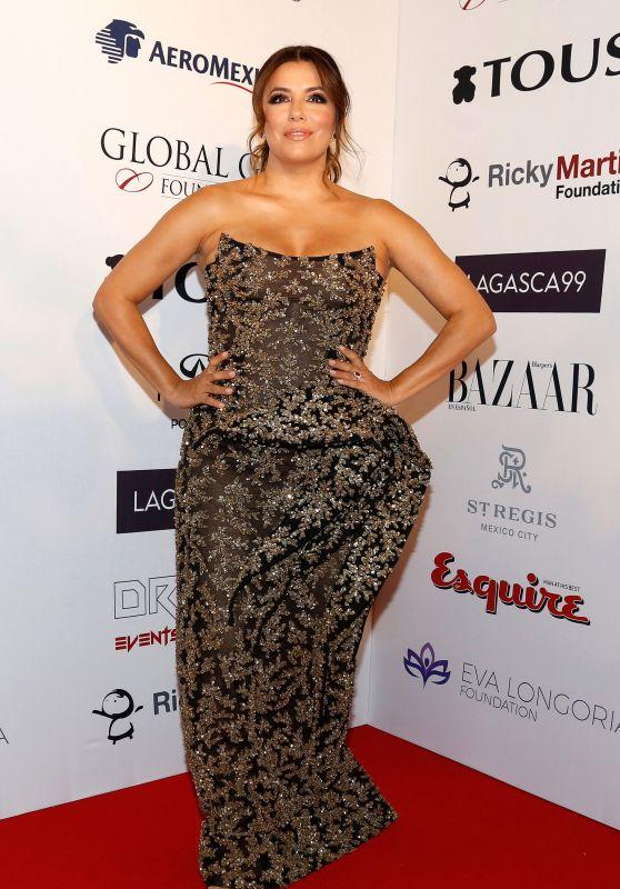 Eva Longoria - Global Gift Gala in Mexico City 10/03/2018