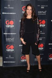Evangeline Lilly - GO Campaign Gala in Los Angeles 10/20/2018