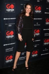 Evangeline Lily – GO Campaign Gala in Los Angeles 10/20/2018