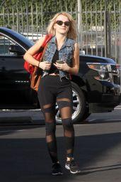 Evanna Lynch – Outside DWTS Rehearsal Studios in LA 10/12/2018