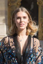 Gaia Weiss – Elie Saab Show, Paris Fashion Week 09/29/2018