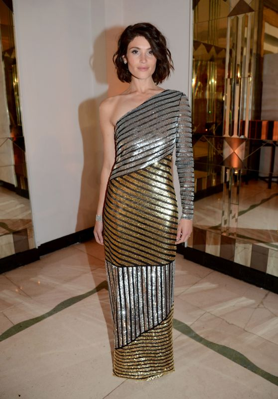 Gemma Arterton – Harper's Bazaar Women Of The Year Awards 2018