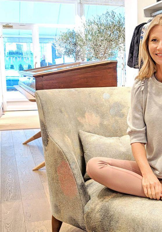 Gwyneth Paltrow - Glamour UK October 2018 Digital Issue