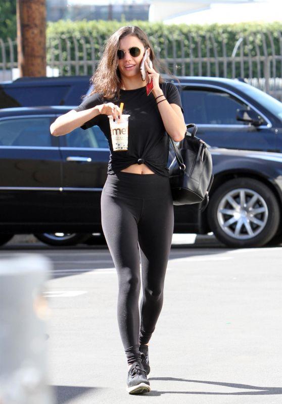 Hayley Erbert in Spandex - Los Angeles 10/19/2018