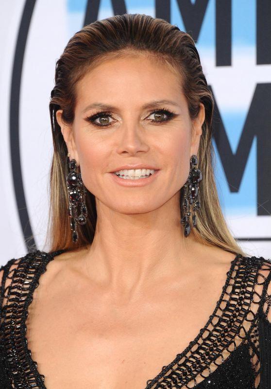 Heidi Klum – 2018 American Music Awards in Los Angeles