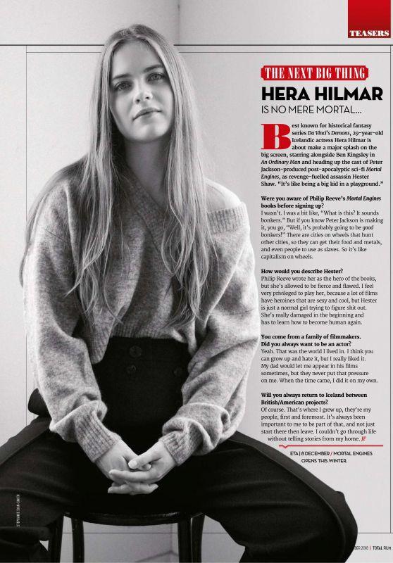 Hera Hilmar - Total Film November 2018