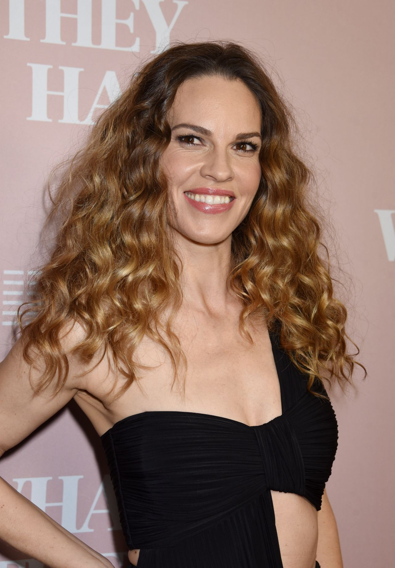 "Hilary Swank - ""What They Had"" Screening in Los Angeles Hilary Swank"