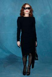 Isabelle Huppert – Givenchy Show at Paris Fashion Week 09/30/2018