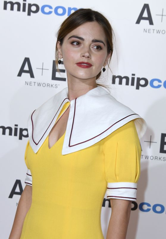 Jenna Coleman - 2018 MIPCOM Opening Red Carpet in Cannes