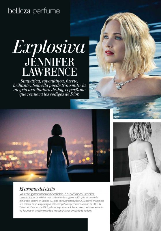 Jennifer Lawrence - Woman Madame Figaro October 2018