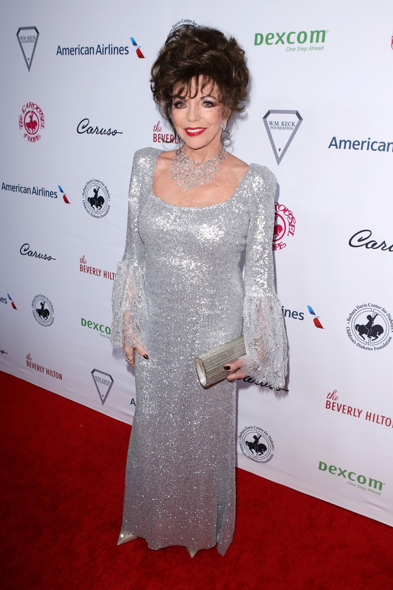 Joan Collins 2018 Carousel Of Hope Ball In Beverly Hills