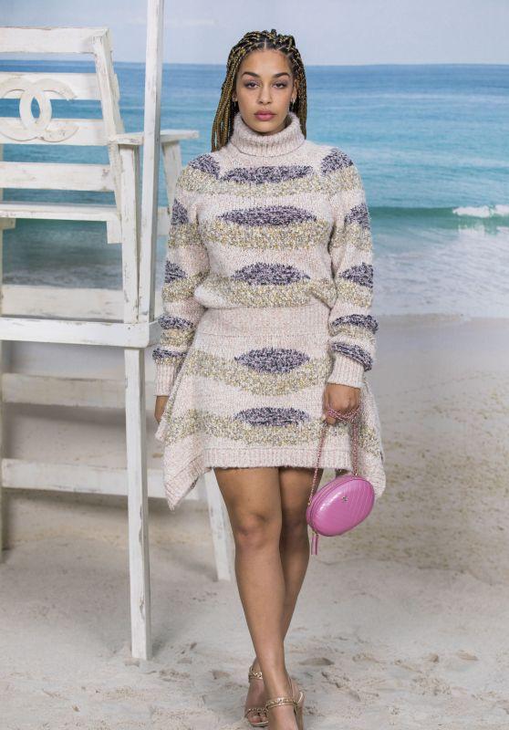 Jorja Smith – Chanel Collection Show at Paris Fashion Week 10/02/2018
