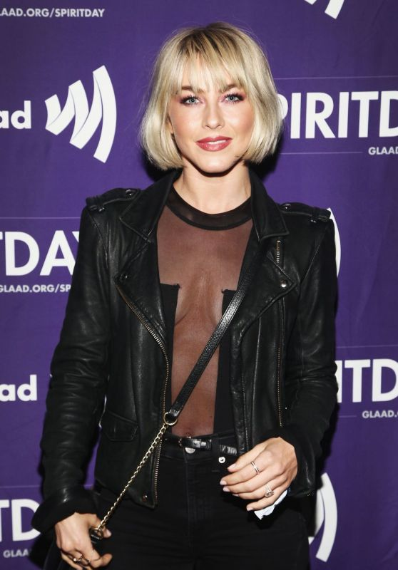 Julianne Hough - BEYOND Spirit Day Concert in Hollywood 10/17/2018