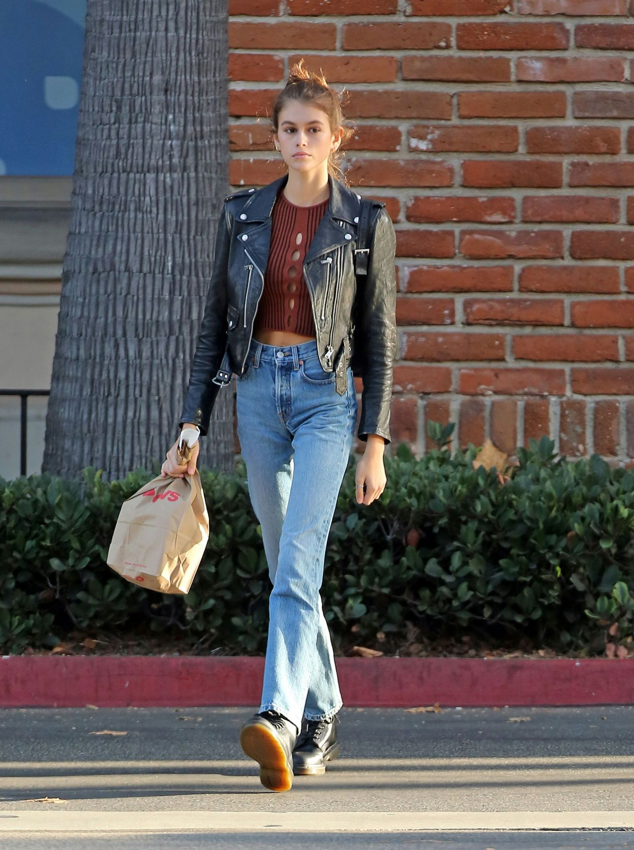 Kaia Gerber Out In Los Angeles 10 07 2018