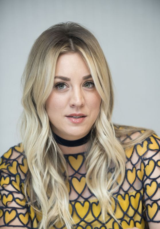 """Kaley Couoco - """"The Big Bang Theory"""" Press Conference in West Hollywood"""