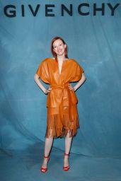 Karen Elson – Givenchy Show at Paris Fashion Week 09/30/2018