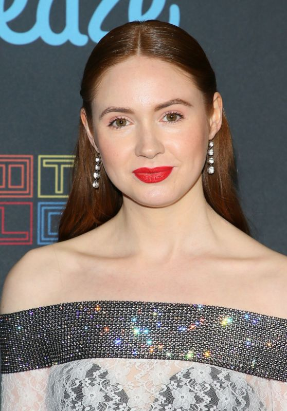 "Karen Gillan - ""All Creatures Here Below"" ""Original Sin and Perception"" Press line in Los Angeles 10/18/2018"