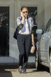 Kate Mara in Casual Outfit - LA 10/16/2018