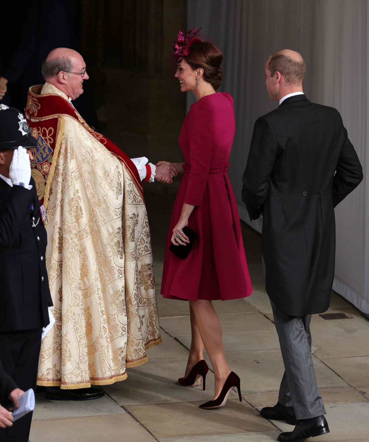 Princess Eugenie Of York Wedding: Kate Middleton And Prince William At The Wedding Of