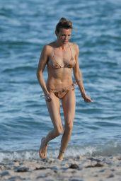 Katie Cassidy in Bikini at the Beach in Miami 10/24/2018