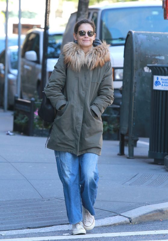 Katie Holmes - Out in New York City 10/25/2018