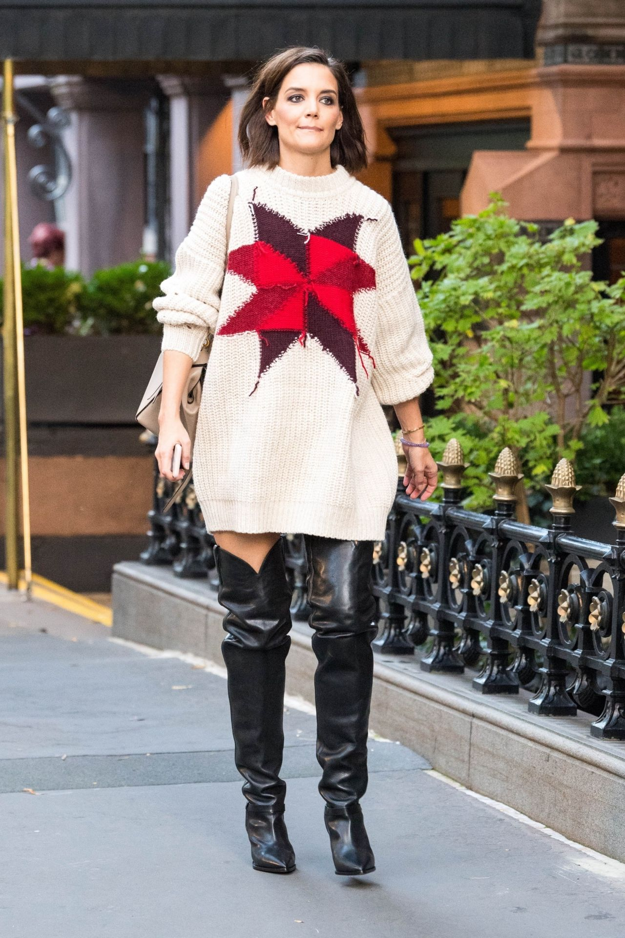 Katie Holmes Style And Fashion NYC 10102018