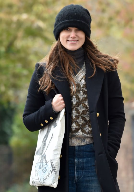 Keira Knightley Casual Style 10/29/2018