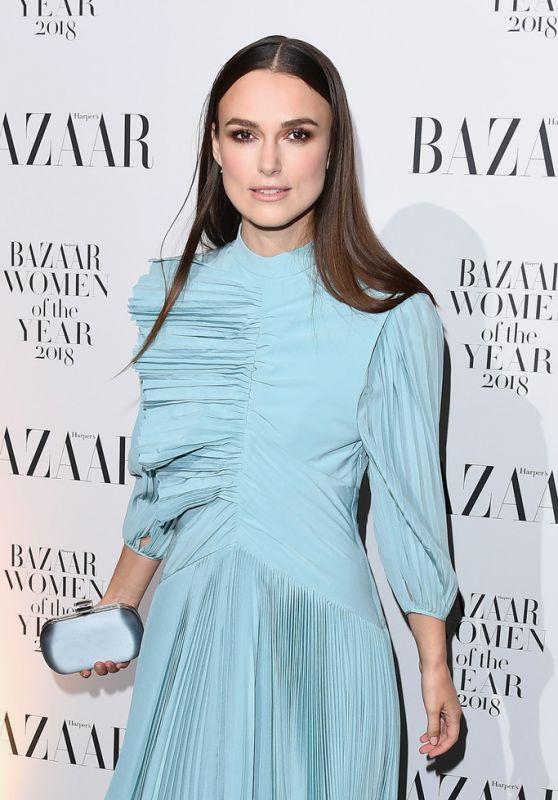 Keira Knightley – Harper's Bazaar Women Of The Year Awards 2018