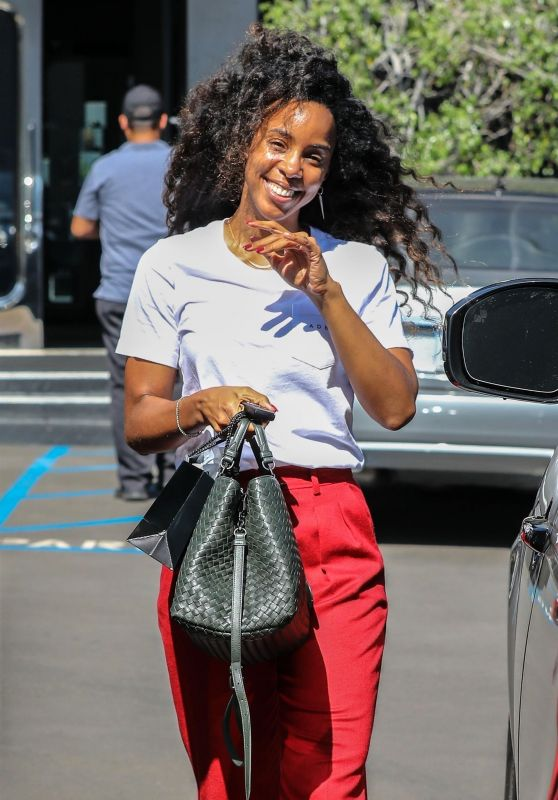 Kelly Rowland - Shopping in Beverly Hills 10/06/2018